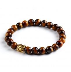 Мъжка тибетска гривна - черна или кафява
